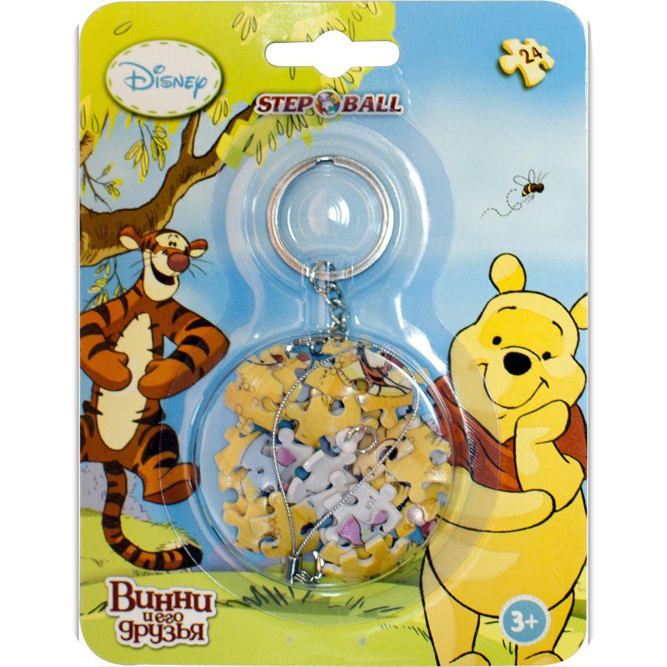 Пазл-брелок 24 Step ball Медвежонок Винни
