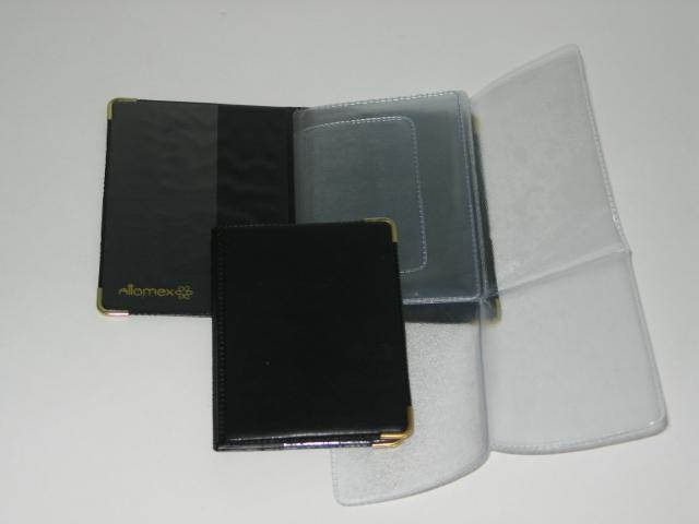 Бумажник водителя Attomex черный