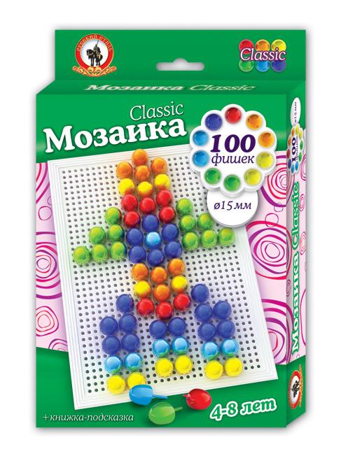 Мозаика 100 фишек Classic Ракета d=15 мм