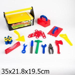 набор Строитель №4 (набор инструментов в ящике)