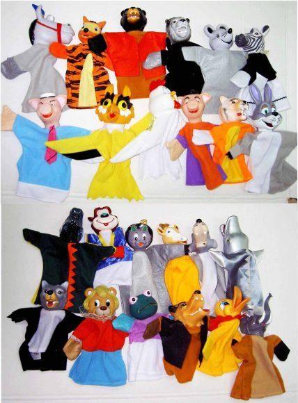 АКЦИЯ19 Кукольный театр Куклы-перчатки Животные в ассортименте