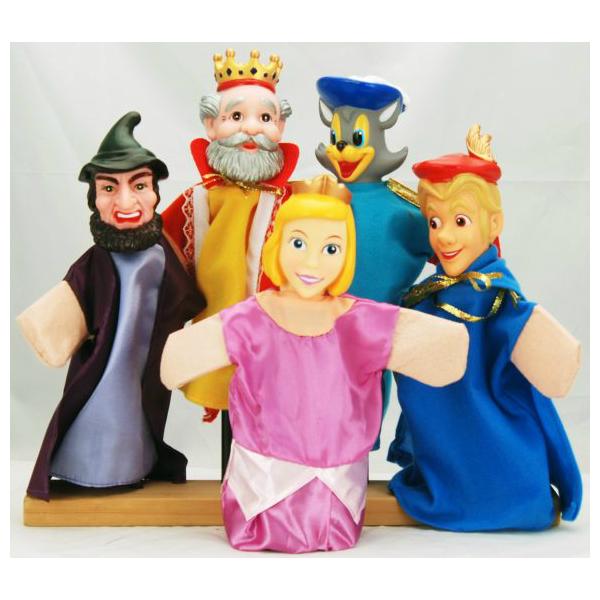 Кукольный театр Кот в сапогах 5 кукол