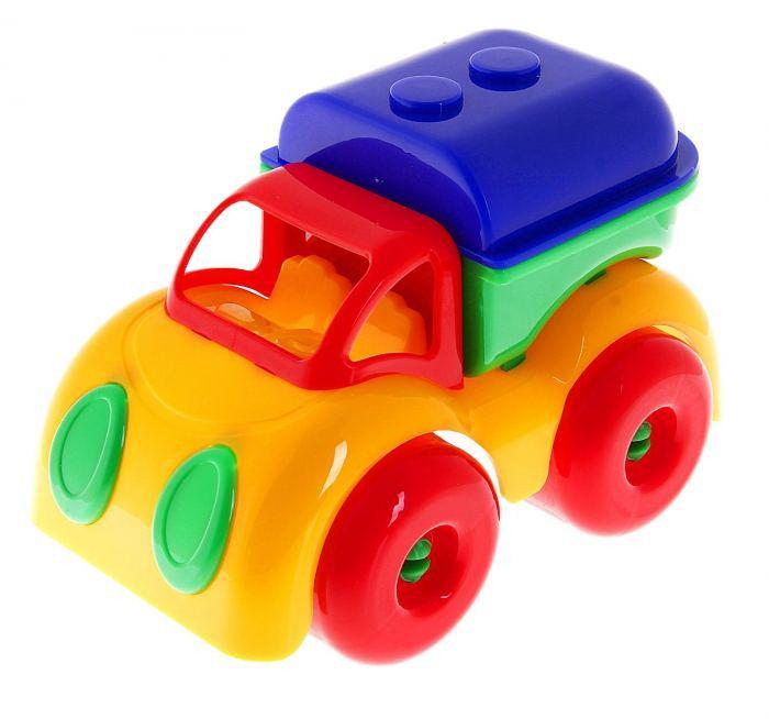 Машина Автоцистерна Малышок пластмас.