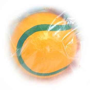 Мяч 125мм резин. с полоской