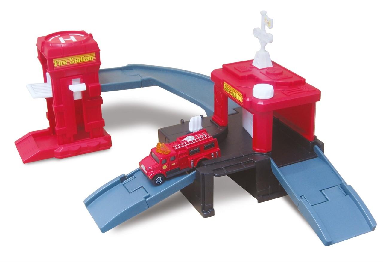 набор Megapolis Пожарная с машиной