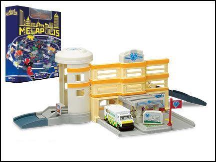 набор Megapolis Больница с машиной