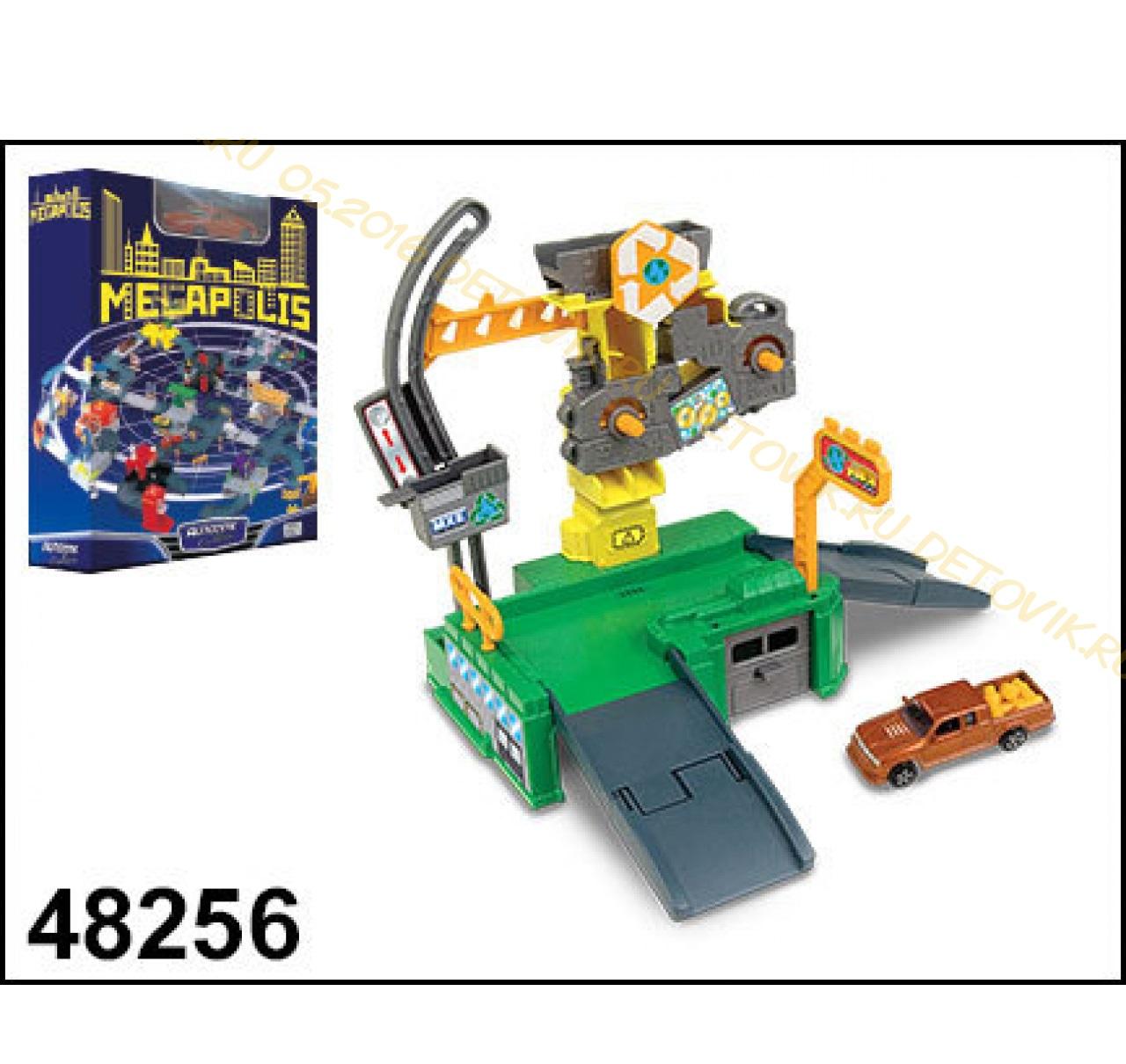 набор Megapolis Завод с машиной