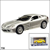 Машина Mercedes Benz SLR Mclaren 1:43 ТОР 100 Collection