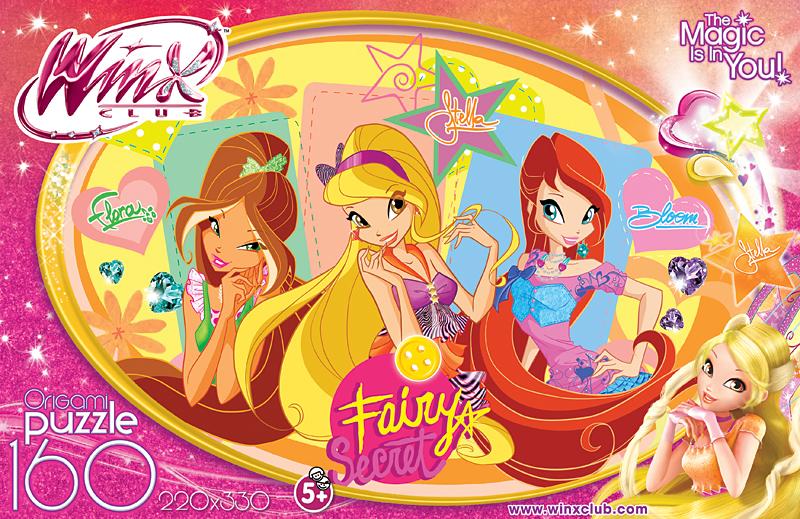 АКЦИЯ19 Пазл 160 Origami 12496 Winx My Fairy Diary Стелла New
