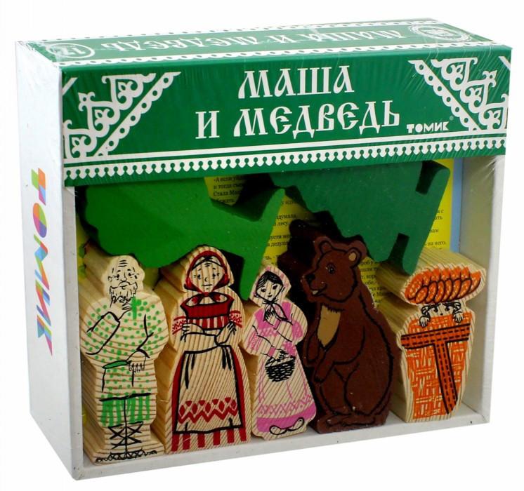 Конструктор Маша и Медведь 17 дет. дерев.