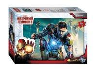 Пазл 54 Step Marvel Железный человек 3 ассорти