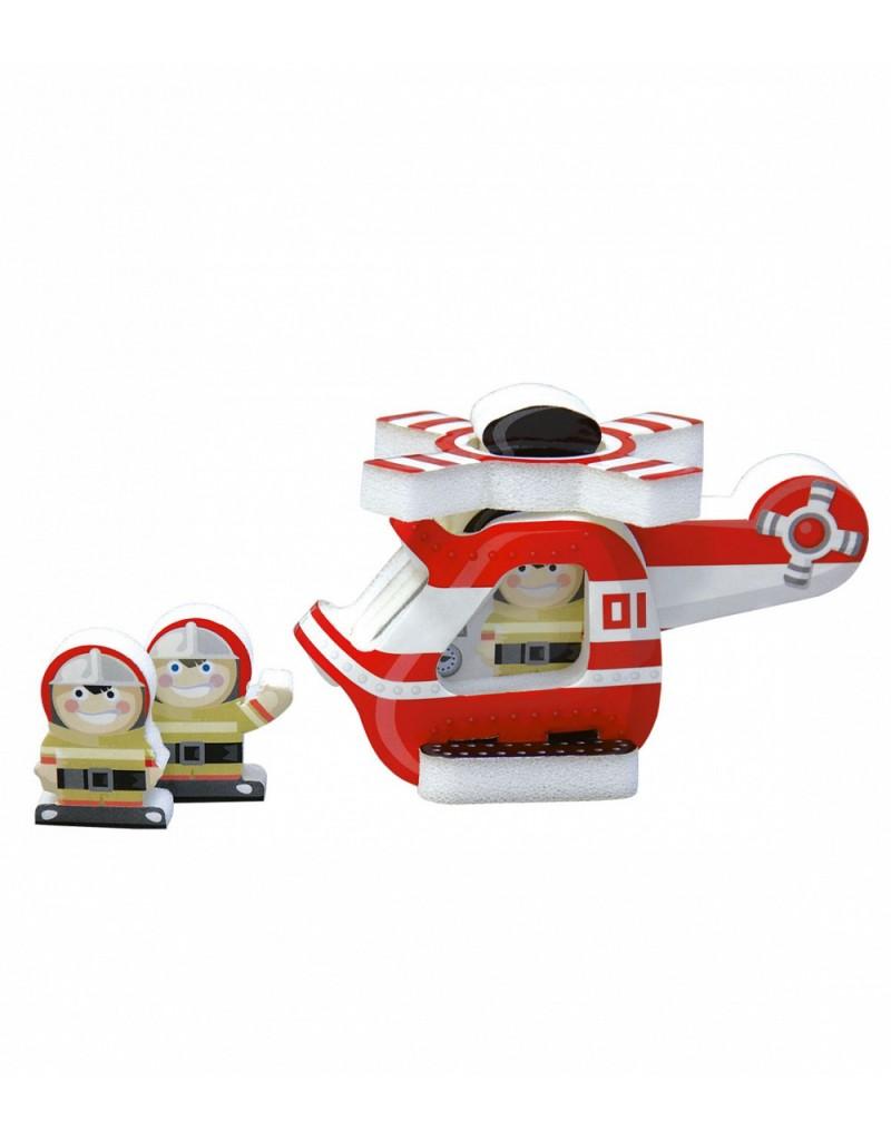 Сборная модель Вертолет (картон + изолон)