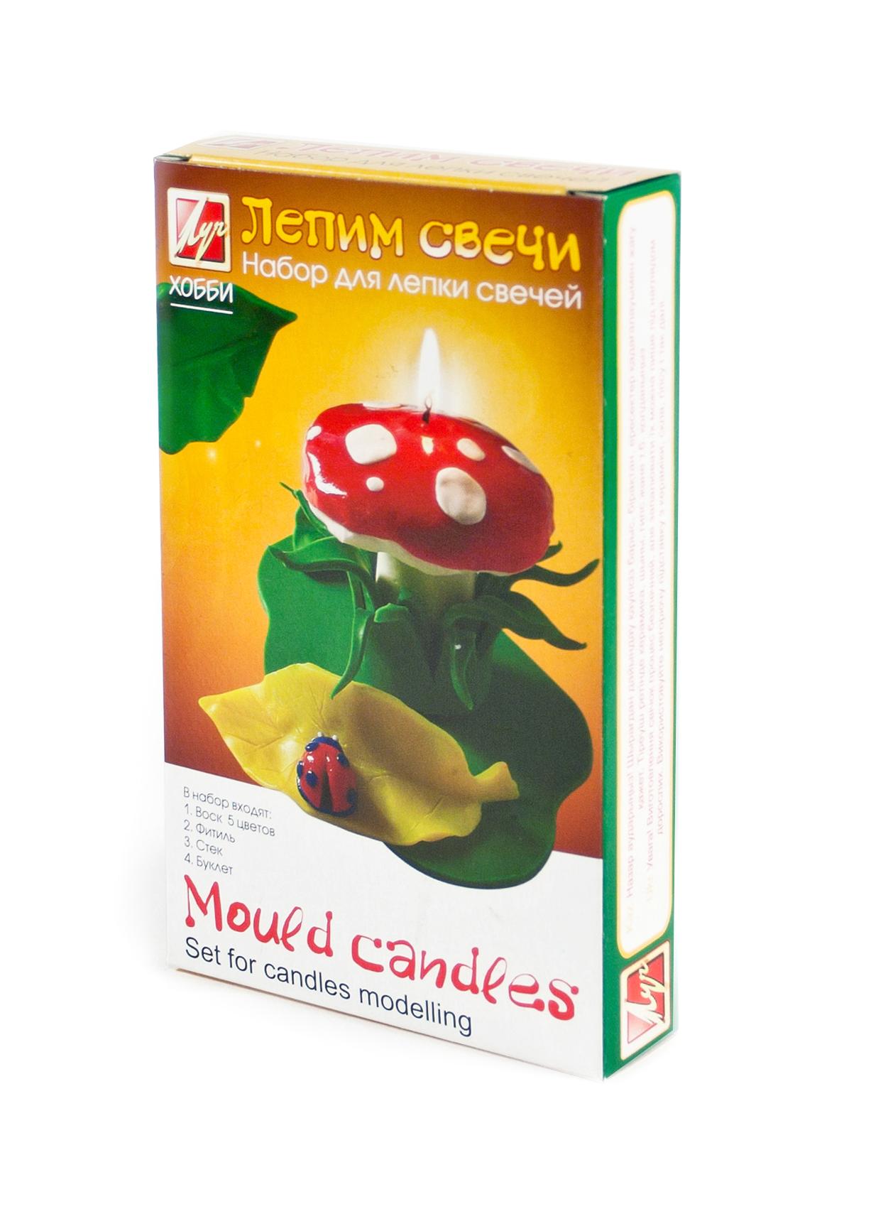 Изготовление свечей Лепим свечи Mould Candles