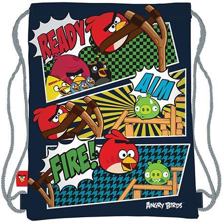 Мешок д/обуви Angry Birds 43*34 см