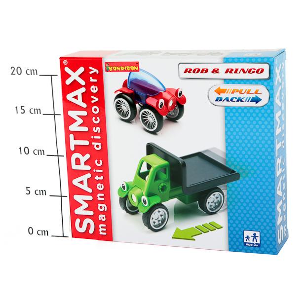 Конструктор магнитный Smartmax Специальный (Special) Роб и Ринг