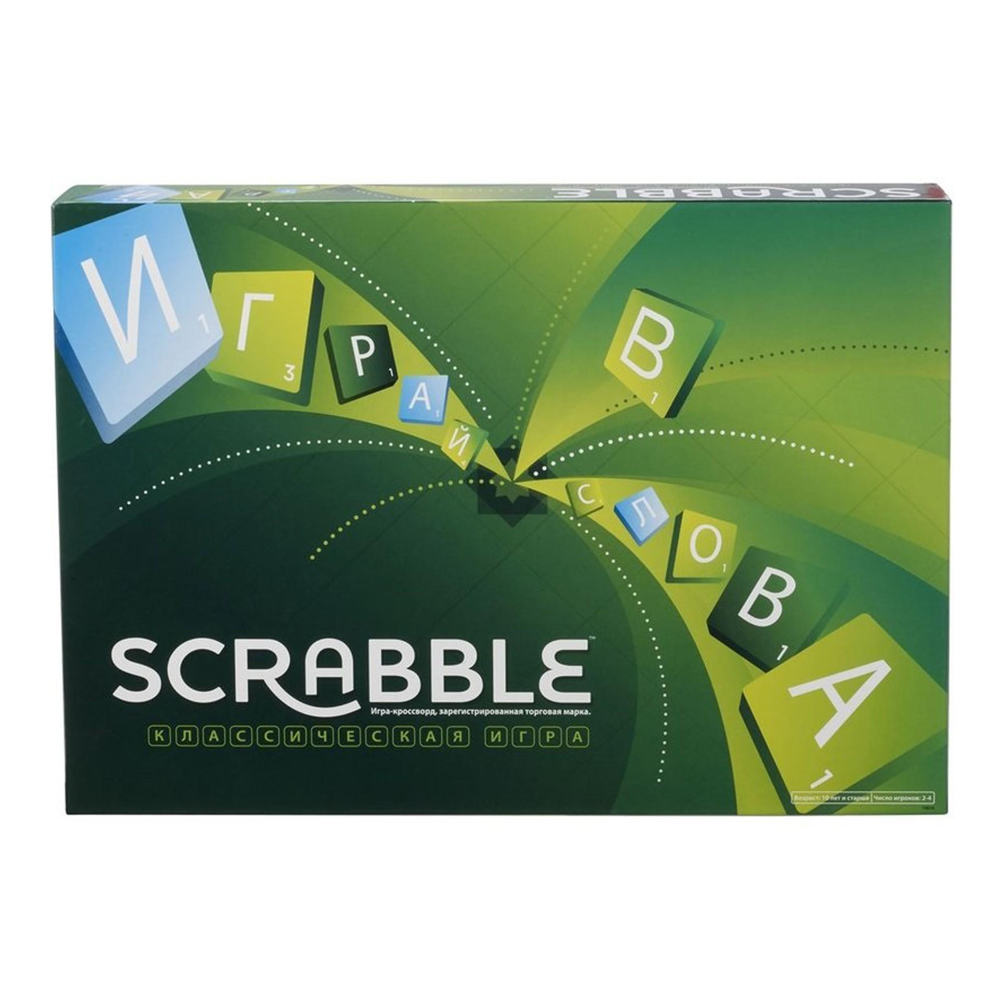 Игра Настольная Скрэбл Scrabble Классический