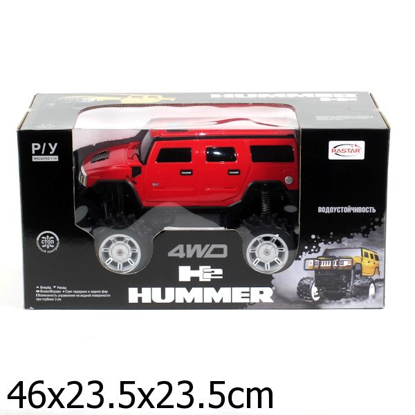 Радиоуправляемая Машина Rastar Hummer H2 Suv