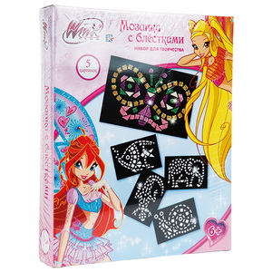 Winx Винкс Мозаика с блестками