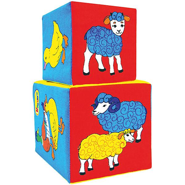 Кубики Мякиши 2шт. Чей детеныш