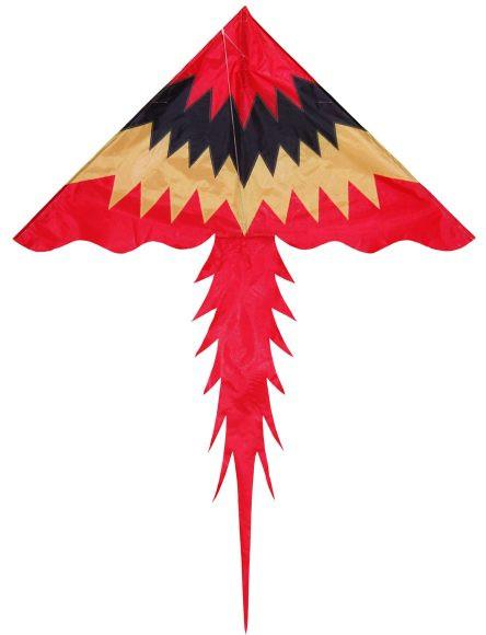 Воздушный змей Пламя 130х178 см.