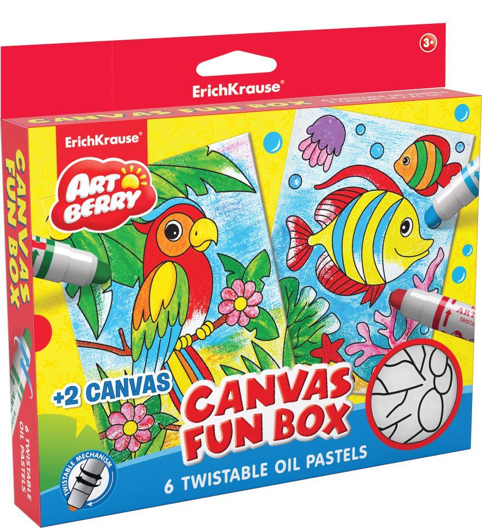 Набор д/творчества EK Canvas Fun box Artberry