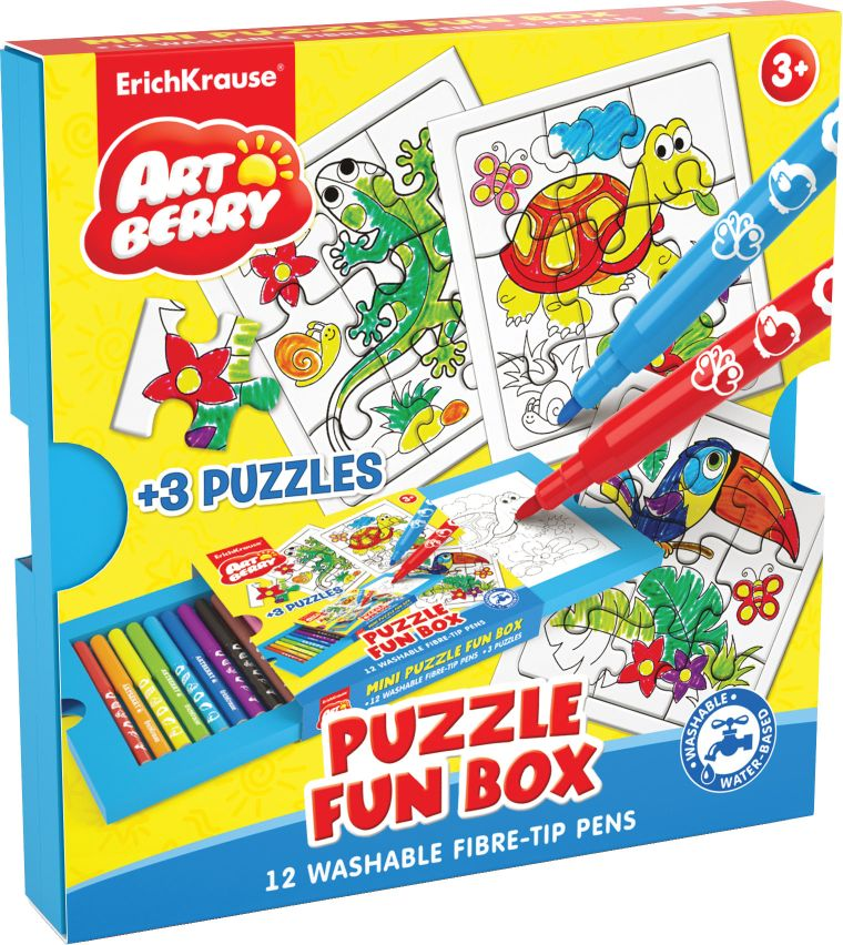 Набор д/творчества EK Puzzle Fun box Artberry