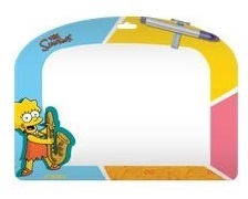 Доска д/рисования А4 Proff The Simpsons + маркер