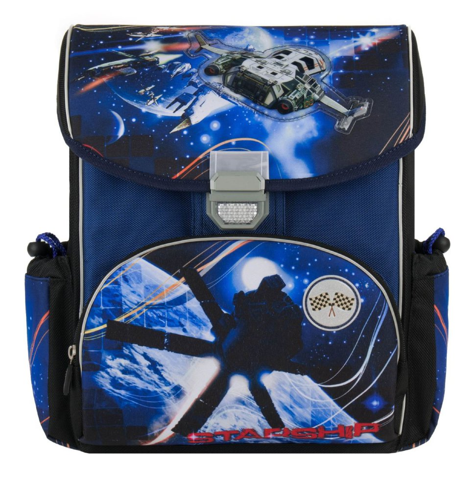 Рюкзак Alliance ортопедический Starship сине-черный