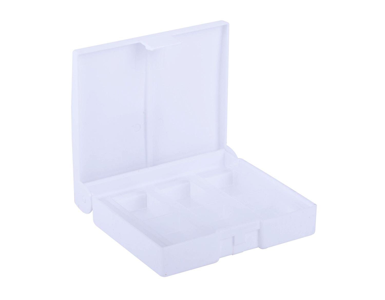 Коробка под акварель 12цв пластик