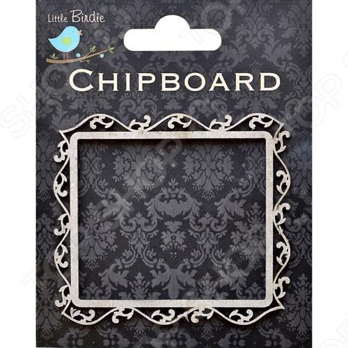 Декоративная форма из картона-рамка (для декупажа)