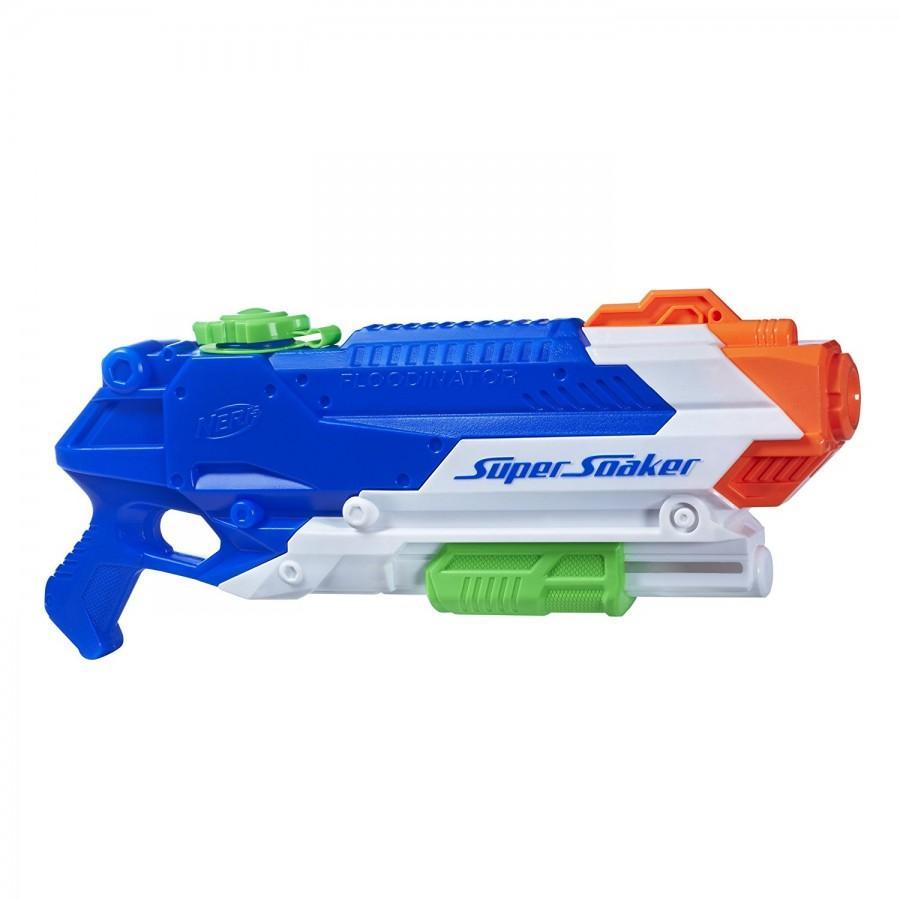 АКЦИЯ19 Игрушка пластмассовая Пистолет водяной Бластер Космический 13 см.