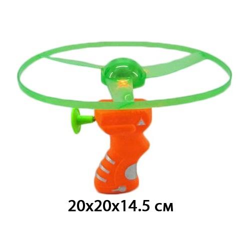 АКЦИЯ19 Игрушка пластмассовая Вертушка с запуском 20 см., свет