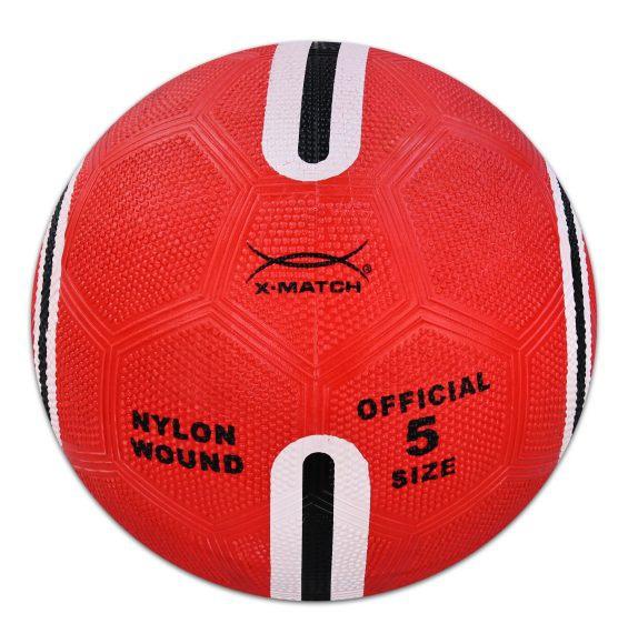 АКЦИЯ19 Игрушка Мяч футбольный Х-Матч 22 см. резин.