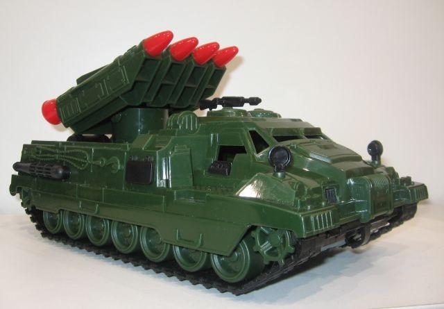 Ракетная установка Страж пластмас. 31см
