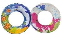 для плавания Круг детский Дельфин 61 см. 2 вида (для детей 6-10 лет)