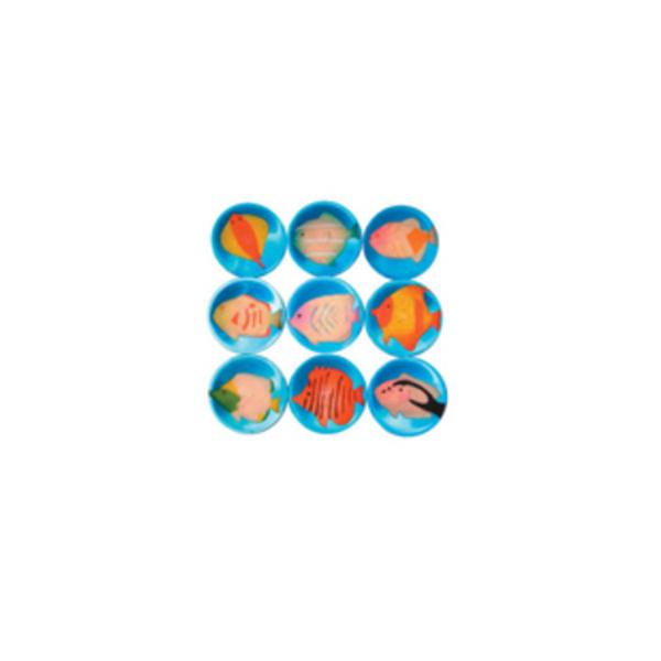 АКЦИЯ19 Игрушка Мини-мяч 4,5см Рыбки