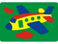 Мозаика-пазлы Самолетик (мягкая)
