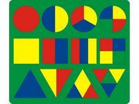 Мозаика-пазлы Геометрические фигуры (большая)