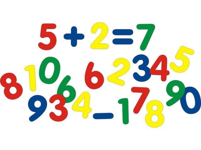 Мозаика-пазлы Набор цифр (мягкая)