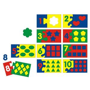Игра Мозаика-пазлы Математический набор