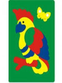 Мозаика-пазлы Попугай (мягкая)