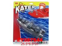 АКЦИЯ19 Игр Катер на батар. 25*8*31 см пласт.