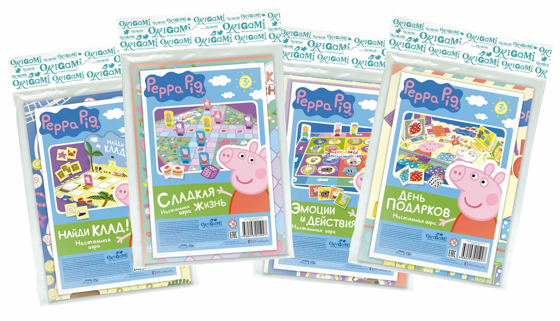 Игра Настольная Peppa Pig Ассорти