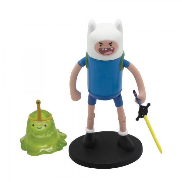 АКЦИЯ19 Игр Фигурка Adventure Time Finn with Slime princess (6см) пластмас.
