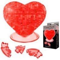 Головоломка Сердце красное 3D 46 дет