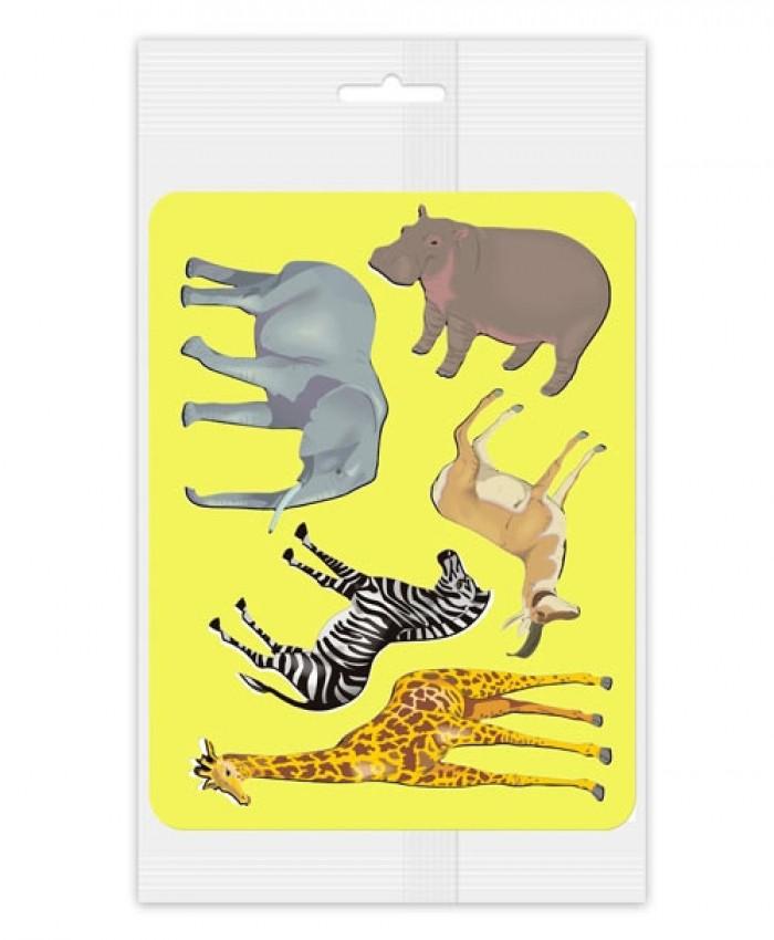 Трафарет Животные Африки