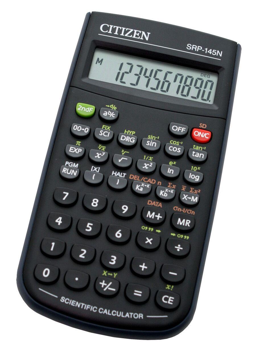 Калькулятор научный 8+2 разр. CITIZEN