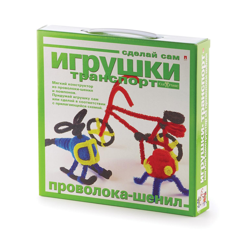 Творч Игрушки своими руками Транспорт (Проволока-шенил)