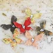 Праз Бабочки бумажные Craftsman Collection 6шт