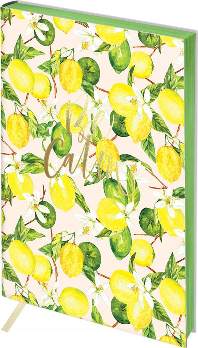Зап. книжка А5 80л кл Greenwich Line Vision. Lemon